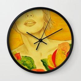 Flowers serie Wall Clock