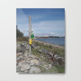 Crockett Beach Metal Print