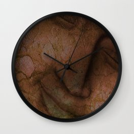 Cracked face Wall Clock