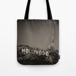 Vintage Hollywood sign Tote Bag