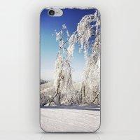 ski iPhone & iPod Skins featuring Ski  by David Nadeau