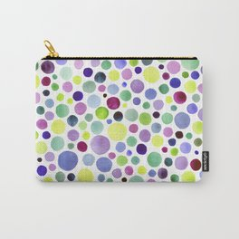 Cold watercolor drops Carry-All Pouch