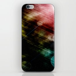 space out iPhone Skin