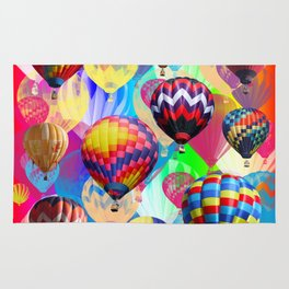 Colored Balloons. Rug
