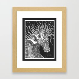 Dark Horse Framed Art Print