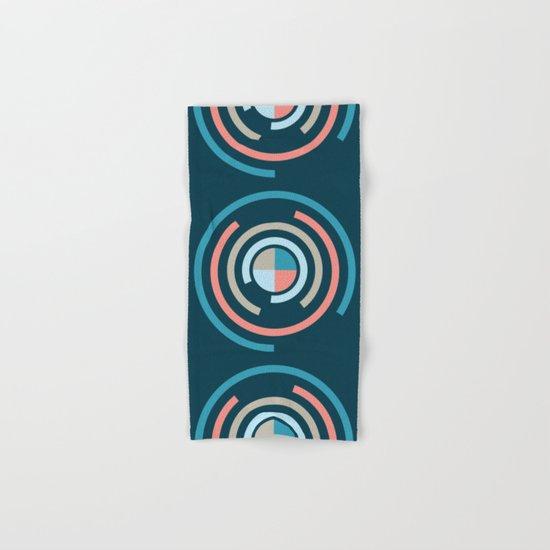 Colorful Circles V Hand & Bath Towel