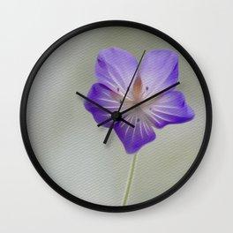 Lonesome Beauty Wall Clock