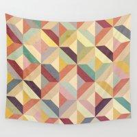 geo Wall Tapestries featuring Geo by Hooray Creative
