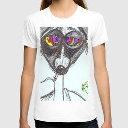 Raccoon Vision  T-shirt