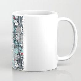 White bird. Coffee Mug