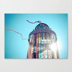 Ribbon Tower Canvas Print
