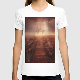 The path of the dead T-shirt