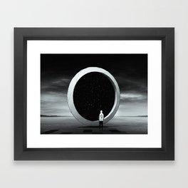 目的   Purpose Framed Art Print