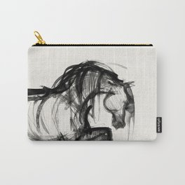 Horse (Saklavi Portrait) Carry-All Pouch