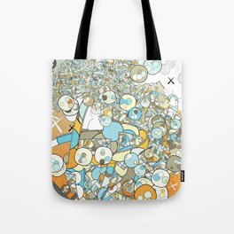 Nested Composition 3 Tote Bag
