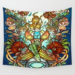 Maternal Instinct Wall Tapestry