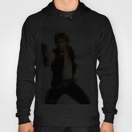 Han with Gun Pixels Texture Hoody