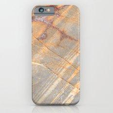 Rock Pattern II (Lake Tahoe, California) iPhone 6s Slim Case