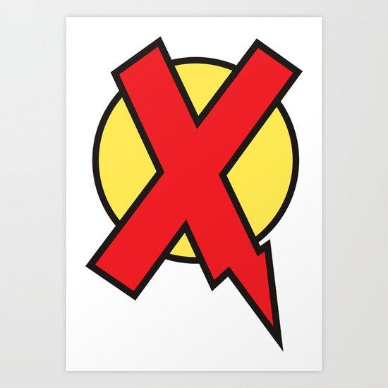 X-Statix Art Print