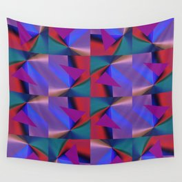 Geometric Lux QR D Wall Tapestry