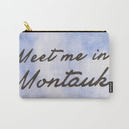 Meet Me in Montauk Carry-All Pouch
