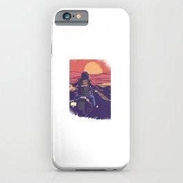 USA Chopper Motorbike iPhone Case