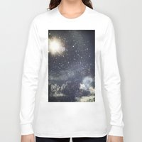 starry night Long Sleeve T-shirts featuring Starry Night  by Jane Lacey Smith