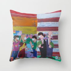 United We Stand Divided We Fall 12: Together Throw Pillow