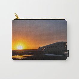 The plane wreck in Solheimasandur, Iceland Carry-All Pouch