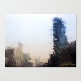 London Abstract Canvas Print