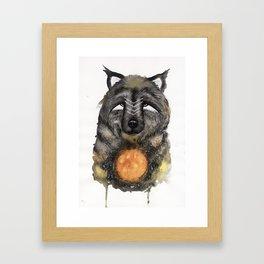 Copernicus the Sun Bear. Framed Art Print