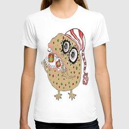 Christmas Fruitcake Monster T-shirt