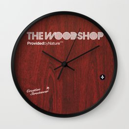 Redwood Wall Clock