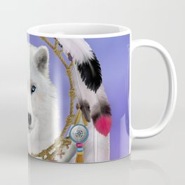 Native American Indian Wolf Spirit Coffee Mug