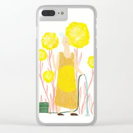 Happy May Clear iPhone Case
