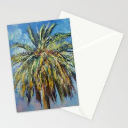 Canary Island Date Palm Stationery Cards