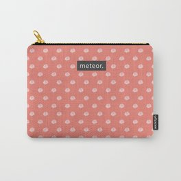 Meteor Power Coral Carry-All Pouch