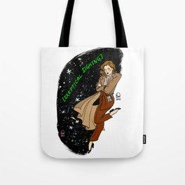 Dana Scully Pin-up Tote Bag