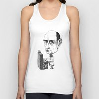 arnold Tank Tops featuring Arnold Schoenberg by Gareth Southwell
