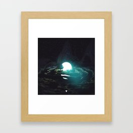 DEER IN THE HEADLIGHTS ∀ Framed Art Print