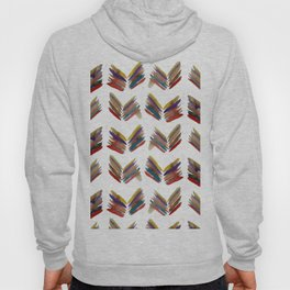 Simple Abstract Leafs Hoody