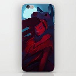 Little Red Riding Hood Returns iPhone Skin
