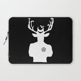 Stag Stud w/Pentacle Laptop Sleeve