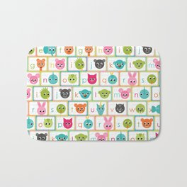 ABC Cards Bath Mat