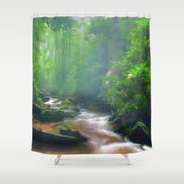 Summer Fantasy Shower Curtain