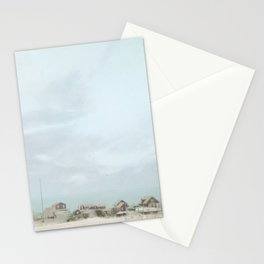 Sleepy Beach Town ~ Pastels Stationery Cards