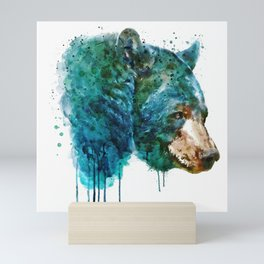 Bear Head Mini Art Print