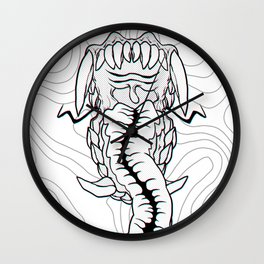 MOUTHY 3D Wall Clock