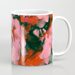 Full Punk Roses | Real Roses, Pink Roses, Red Roses, Colorful, Bright, Pressed Flowers, Vintage, Pun Coffee Mug