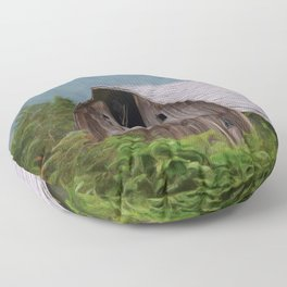 Middle Of Nowhere - Country Art Floor Pillow